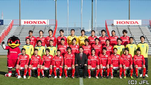 Honda】日本フットボールリーグ...